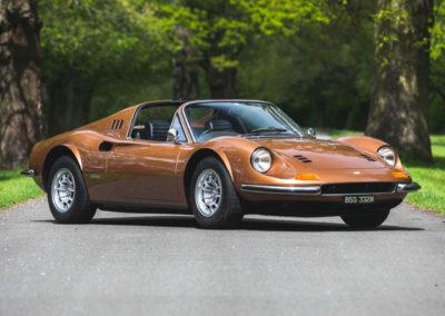 1974 Ferrari 246 Dino GTS RHD Factory Flares Car.