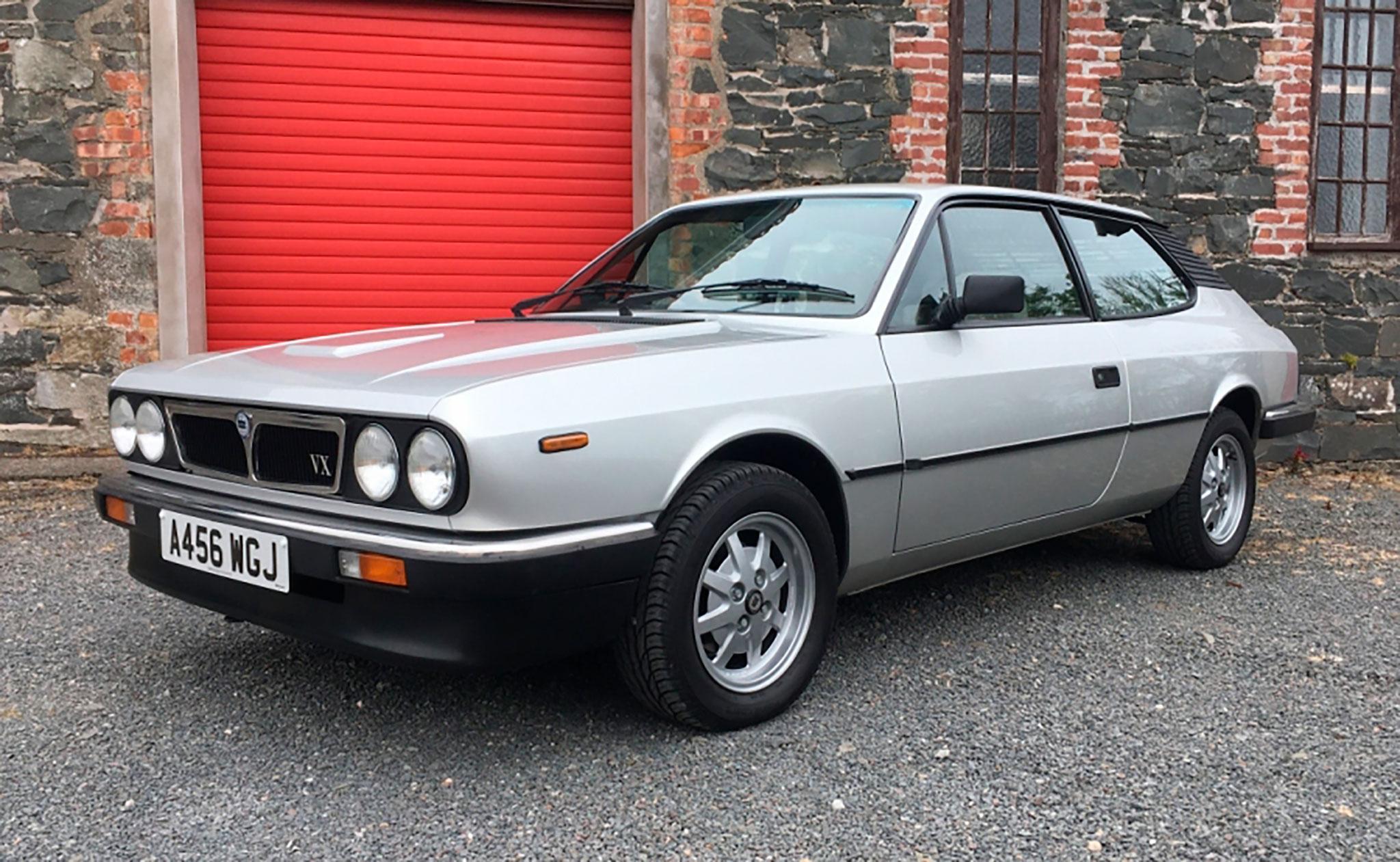 1984 Lancia Beta HPE Volumex - CCA au London Classic Car Show 2021.
