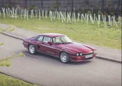 1986 Lister-Jaguar XJ-S 7.0-Litre les jantes sont spécifiques à ce modèle.