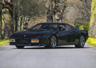 1987 Ferrari Testarossa Ex-Kenneth C. Smith collectionneur américain.