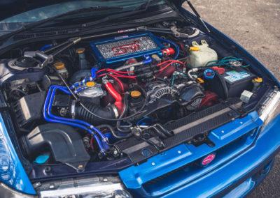 1999 Subaru 22B-STi Type UK moteur spécifique de 2212cc au lieu de 1994cc.