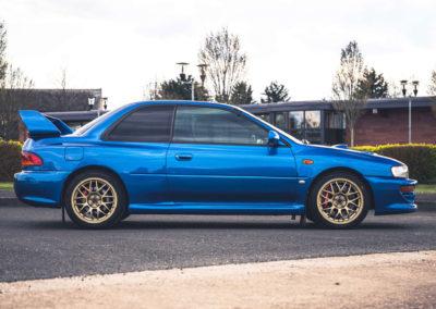 1999 Subaru 22B-STi Type UK n'affiche, d'origine, que 49,000 miles.