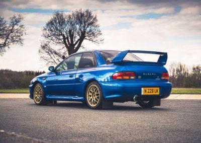 1999 Subaru 22B-STi Type UK production pour le Japon 400 exemplaires.