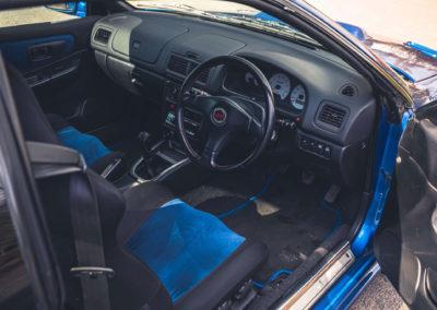 1999 Subaru 22B-STi Type UK uniquement livrable en deux portes.