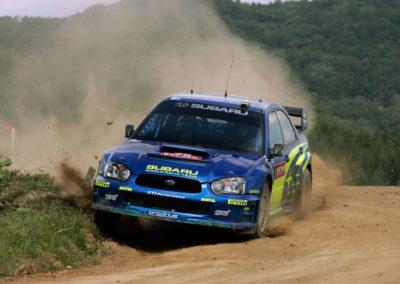 2004 Subaru Impreza S10 WRC Ex-Petter Solberg.