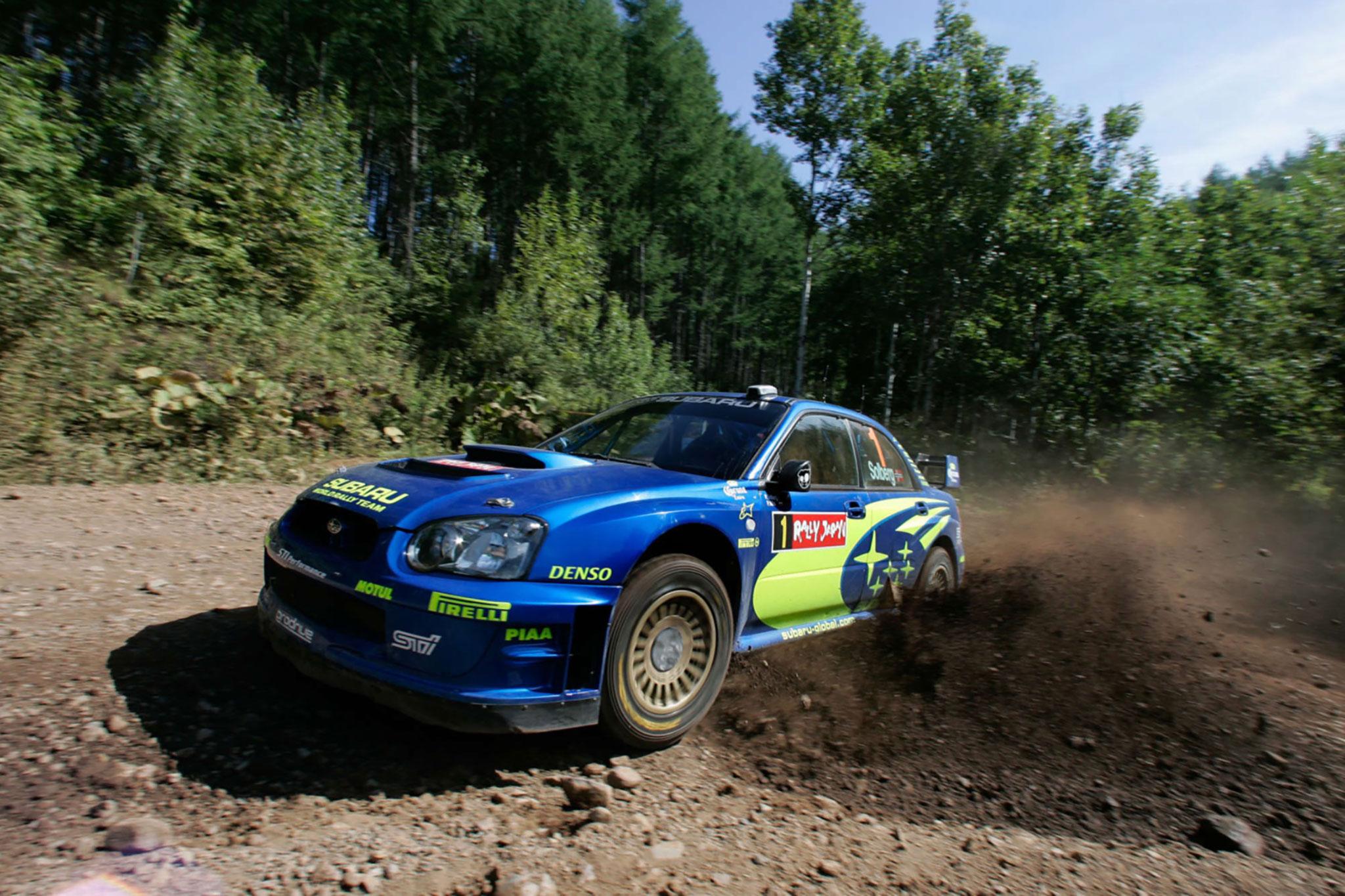 2004 Subaru Impreza S10 WRC Rallye du Japon en 2004.
