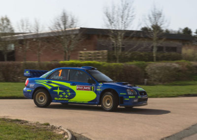 2004 Subaru Impreza S10 WRC adjugée à £369,000.