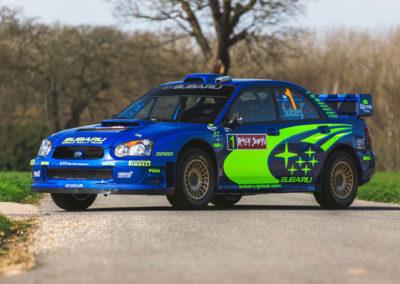 2004 Subaru Impreza S10 WRC châssis PRO-WRC 04008.