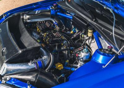 2004 Subaru Impreza S10 WRC moteur reconstruit selon la version originale.