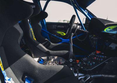 2004 Subaru Impreza S10 WRC reconstruction grâce à la conservation des documents d'origine.