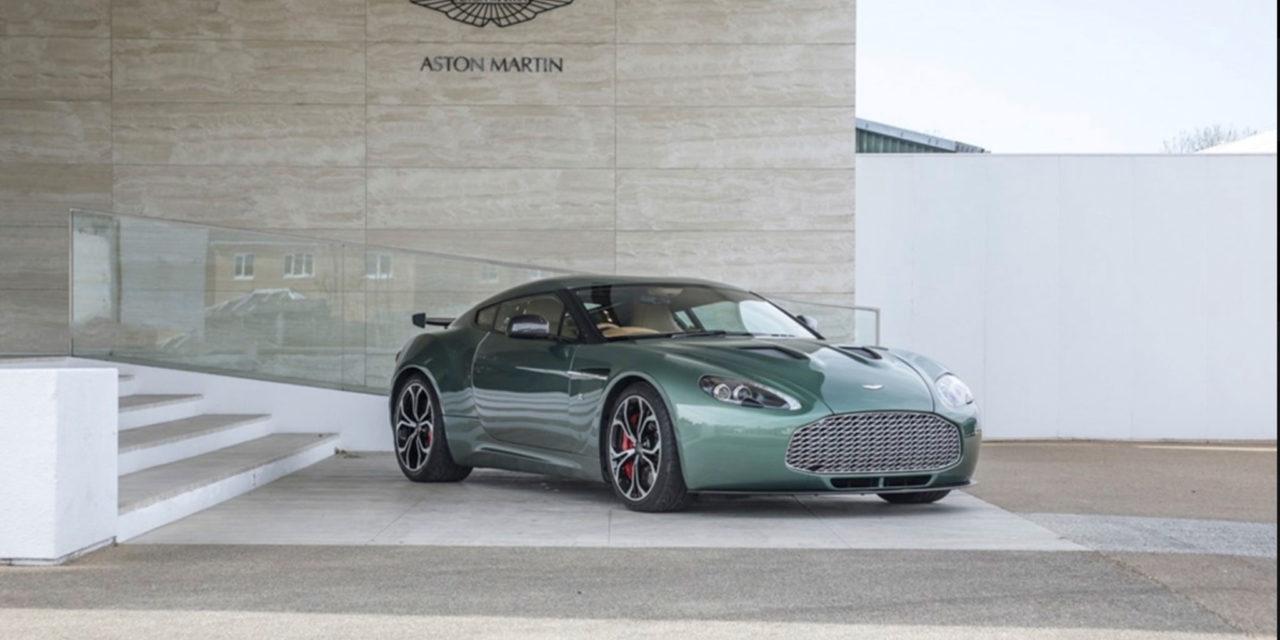 Aston Martin V12 Zagato   Exemplaire unique à carrosserie en aluminium