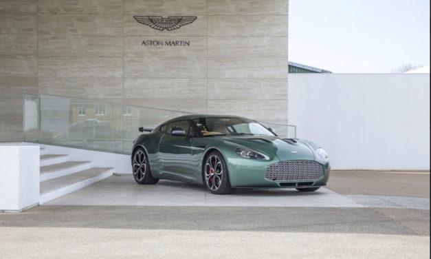 Aston Martin V12 Zagato | Exemplaire unique à carrosserie en aluminium