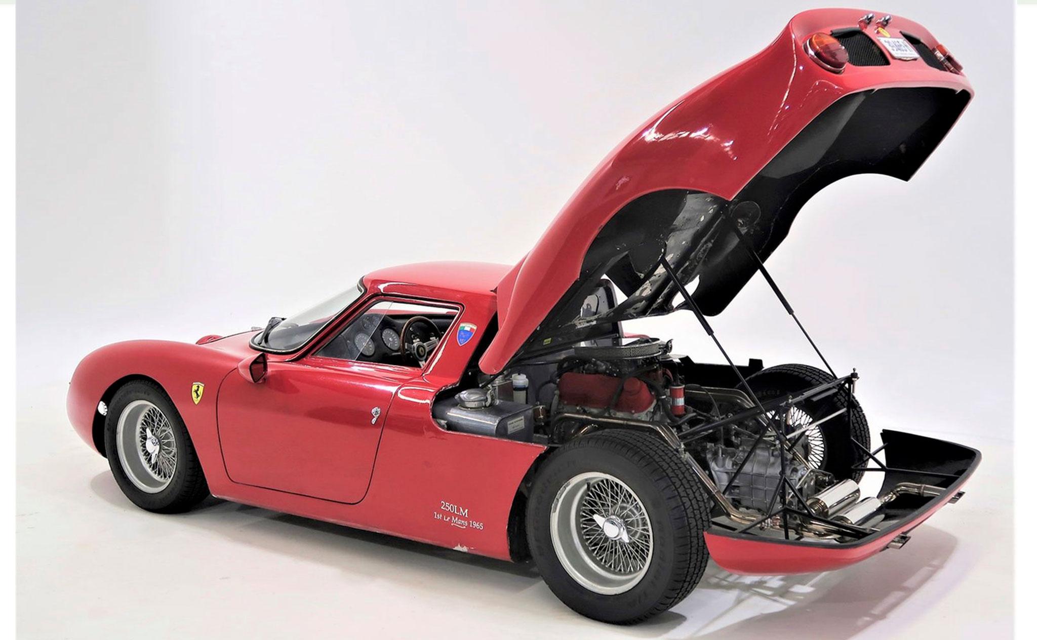Ferrari 250 LM Replica triste vision du V6 Ford 2.0-Litre.