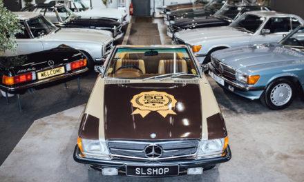 SLSHOP | Le spécialiste Mercedes-Benz fête les 50 ans de la SL R107