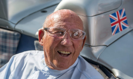 300 SLR 722 | Hommage à Sir Stirling Moss disparu en 2020